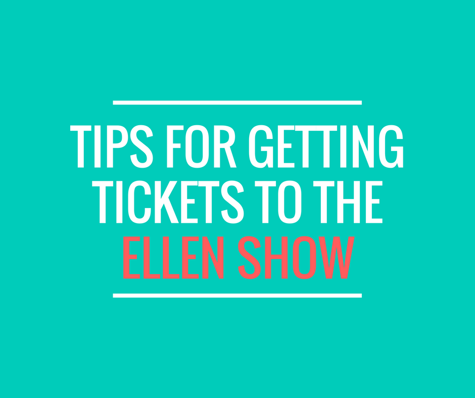 Ellen 12 Days Of Christmas Tickets.5 Tips For Getting Tickets To The Ellen Show
